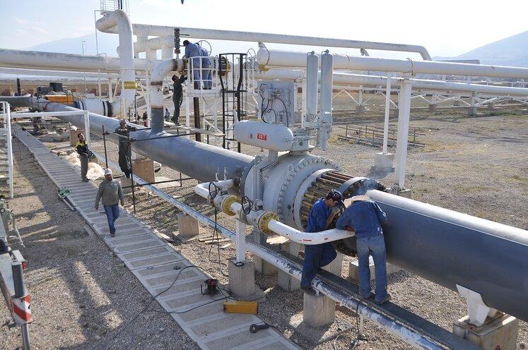 تحقق برنامههای تعمیراتی در منطقه ۸ عملیات انتقال گاز