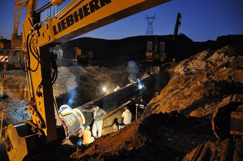 اجرای ۲۹۱ کیلومتر شبکه گازرسانی در استان قزوین