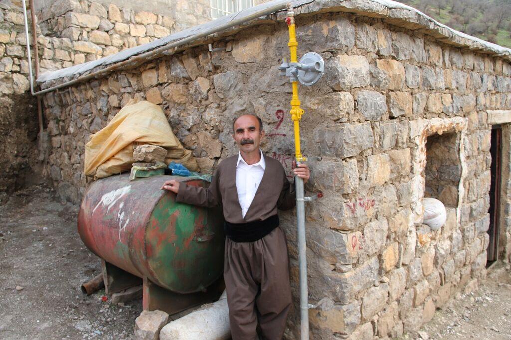 رشد ۱۰۹ درصدی نفوذپذیری گاز طبیعی در روستاهای کردستان