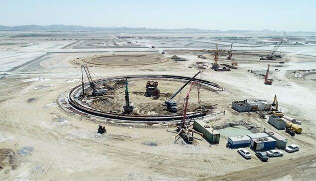 تأمین ۹۰ درصد کالاهای پروژه احداث مخازن جاسک از داخل