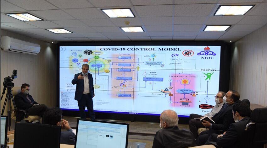 تشریح تازهترین نسخه الگوی نرمافزاری مقابله با کرونا در شرکت ملی نفت