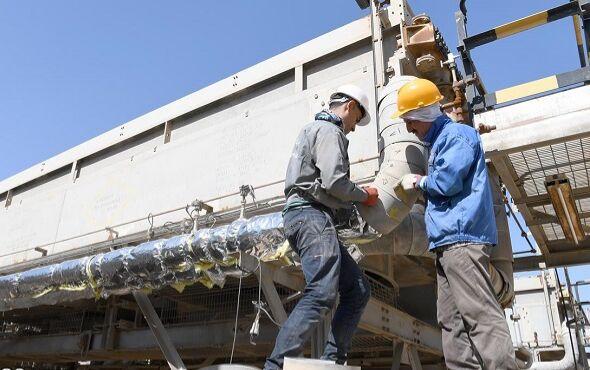 انجام ۸۳درصدی درخواست تعمیرات اساسی مناطق نفتخیر جنوب در سال ۹۸