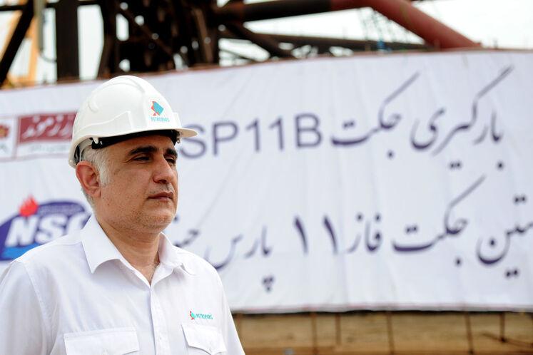 حمیدرضا مسعودی، مدیرعامل گروه پتروپارس