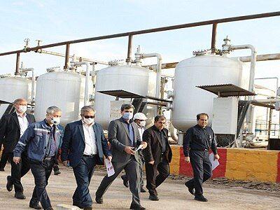 طرح نوسازی تأسیسات مناطق نفتخیزجنوب کلید خورد