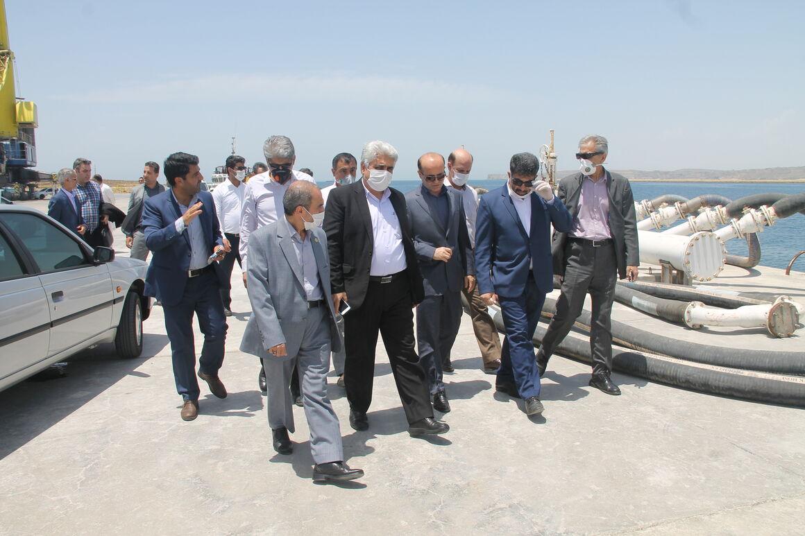 ساخت اسکله ۵۰ هزار تنی در منطقه چابهار کلید خورد