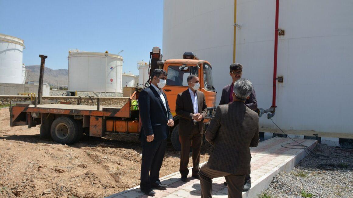 اجرای ۴ پروژه مهم در انبار نفت شهرکرد