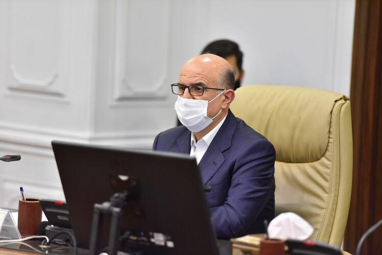 بهزاد محمدی، مدیرعامل شرکت ملی صنایع پتروشیمی