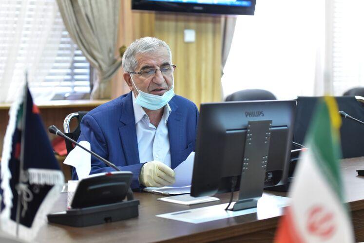 سید باقر مرتضوی، مدیرکل بهداشت، ایمنی و محیط زیست و پدافند غیرعامل وزارت نفت