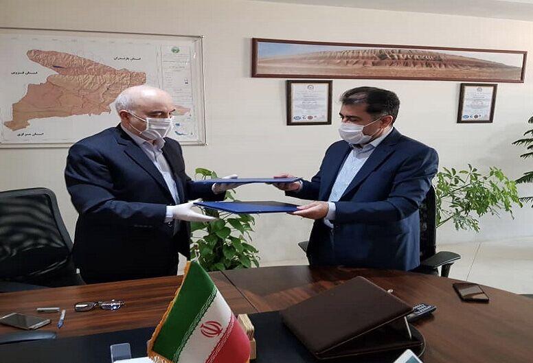 شرکت گاز البرز و اداره کل منابع طبیعی تفاهمنامه همکاری امضا کردند