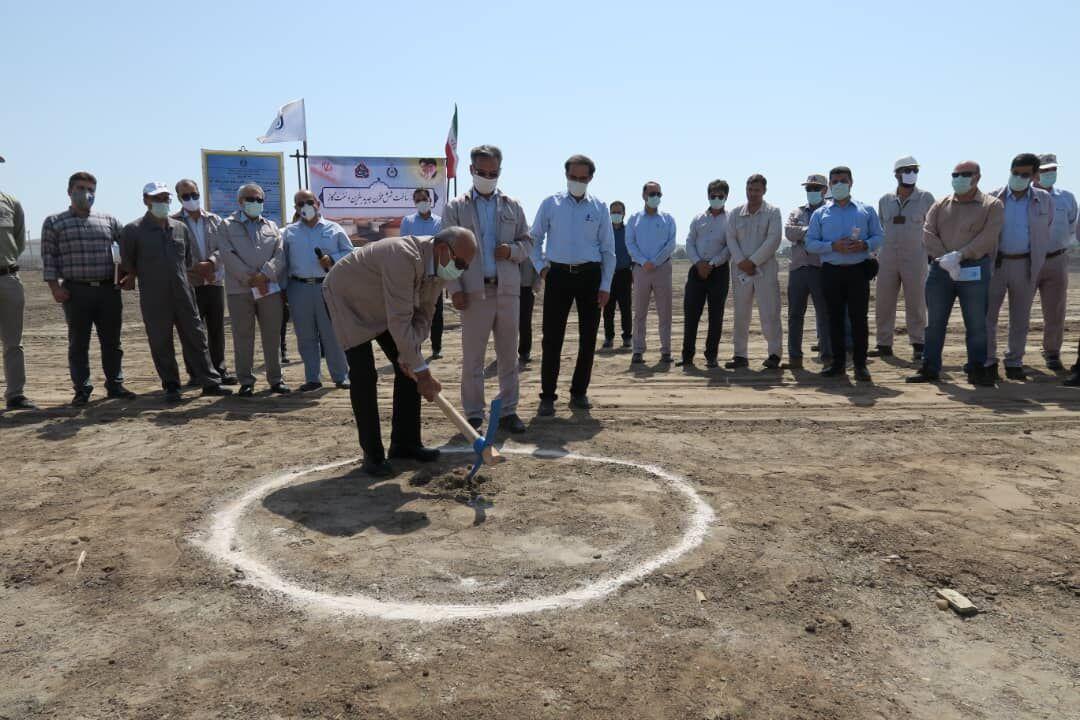 آغاز ساخت ۶ مخزن جدید ذخیرهسازی بنزین و نفتگاز در پالایشگاه بندرعباس