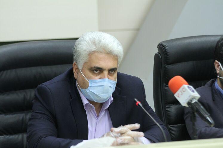کرامت ویسکرمی، مدیرعامل شرکت ملی پخش فرآوردههای نفتی ایران