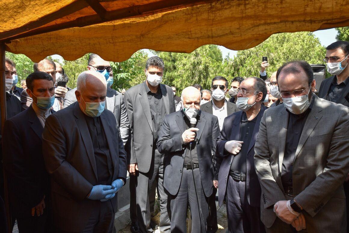 پیکر حسین کاظمپور اردبیلی به خاک سپرده شد
