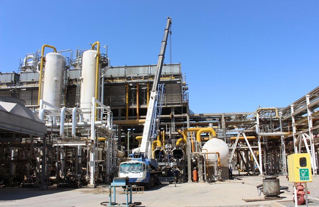 تعمیرات اساسی پالایشگاه گاز شهید هاشمینژاد آغاز شد