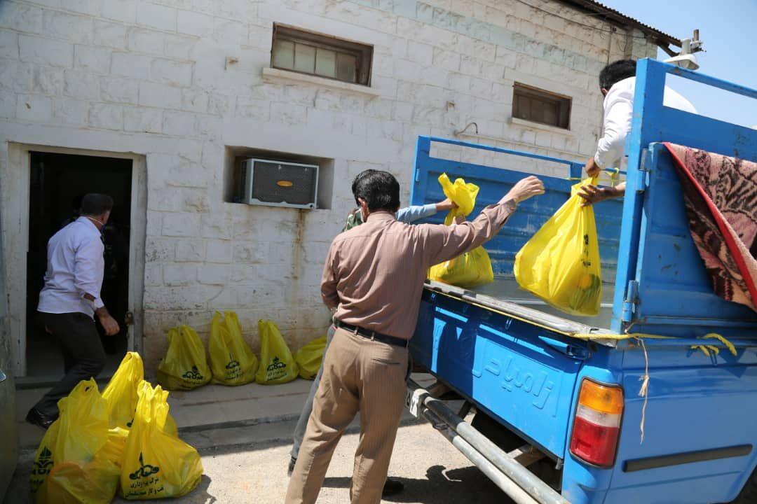 خدمترسانی نفت و گاز مسجدسلیمان به خانوادههای بهزیستی