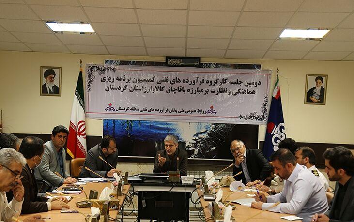 اجرای طرح توزیع الکترونیکی سوخت میان مصرفکنندگان جزء منطقه کردستان