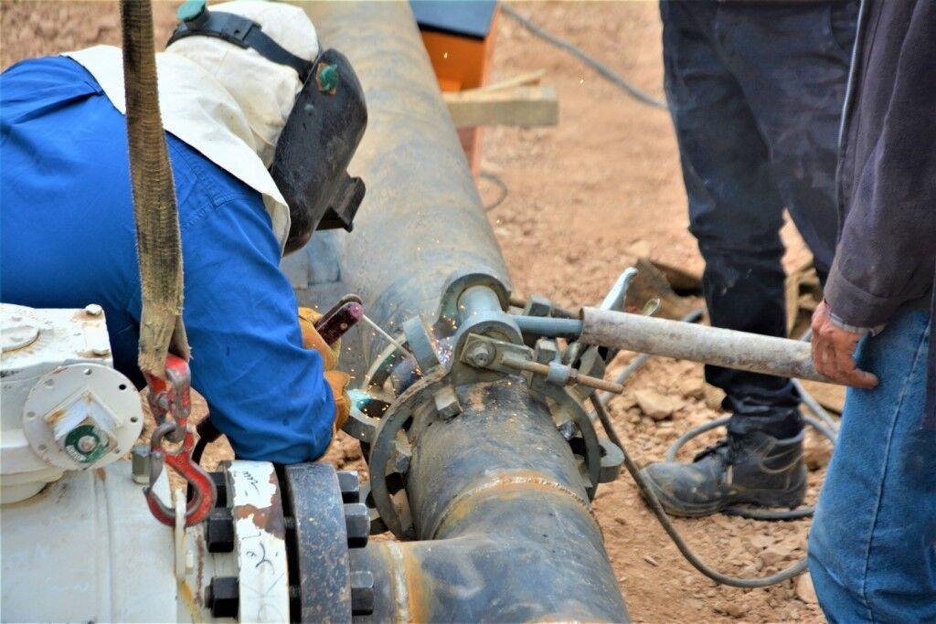 افزایش ضریب ایمنی خط لوله ششم و هفتم سراسری انتقال گاز