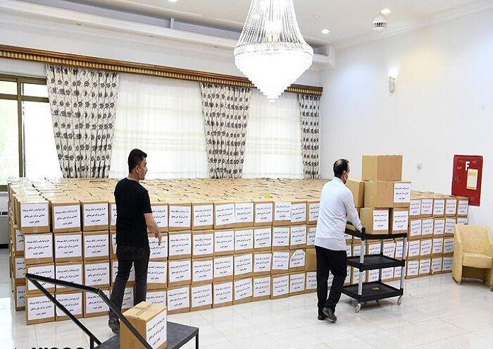 توزیع ۱۲ هزار بسته معیشتی از سوی گچساران و آغاجاری