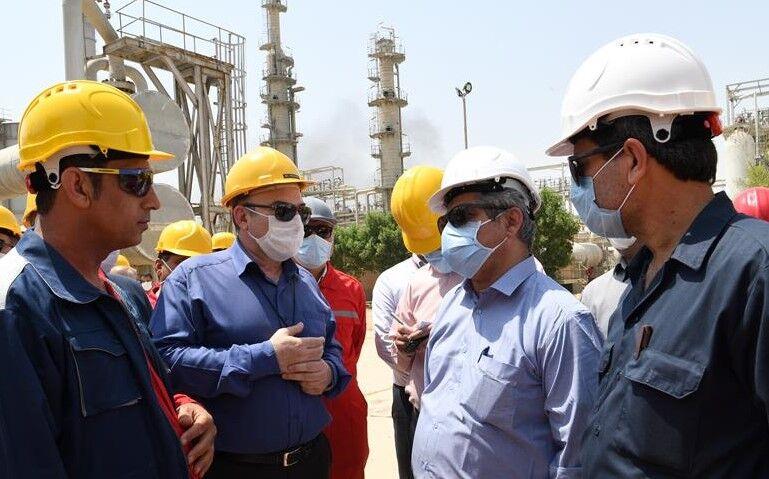 واحدهای گاز و گاز مایع مناطق نفتخیز جنوب نوسازی میشود