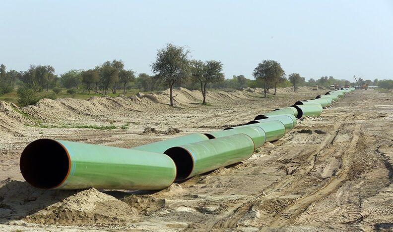 عملیات احداث خط لوله انتقال نفت خام گوره به جاسک آغاز شد