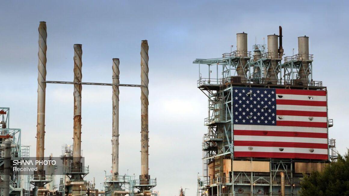 تولید نفت خام آمریکا کاهش یافت