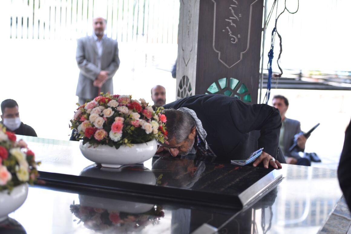 دهمین سالروز تدفین شهدای گمنام وزارت نفت
