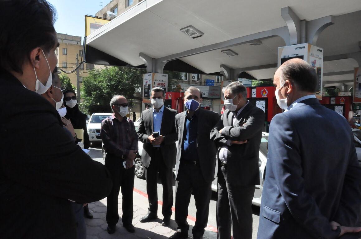 طرح کهاب در ۷ جایگاه عرضه بنزین شهر مشهد اجرایی شد