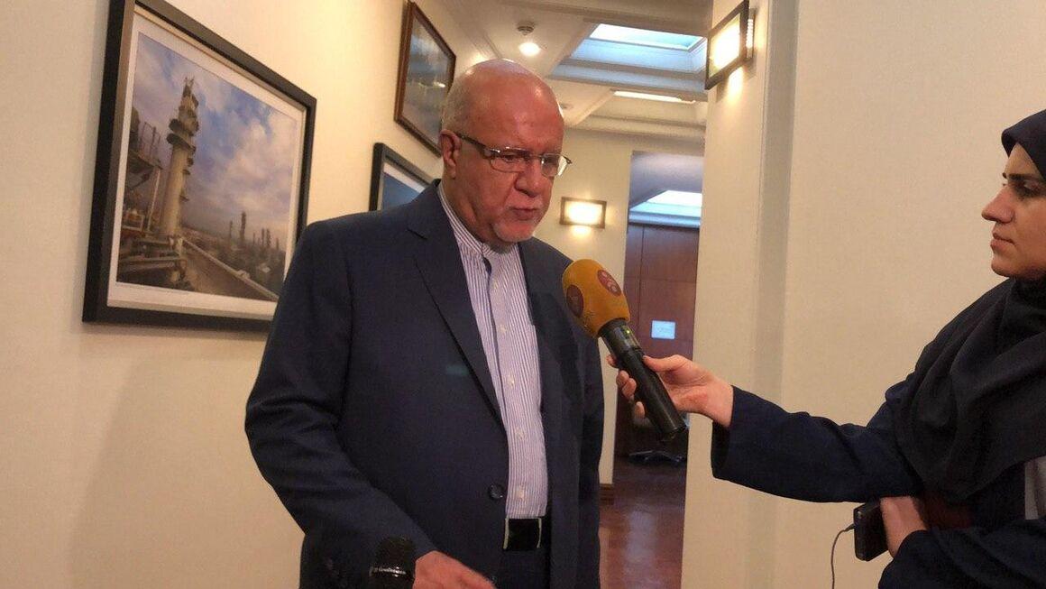 وزیر نفت پس از نشست ۱۷۹ اوپک در جمع خبرنگاران