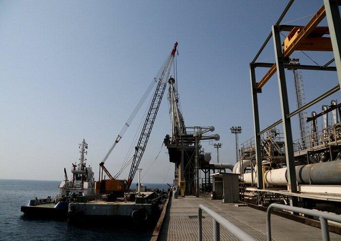 جداسازی موفق بازوی بارگیری در اسکله شرقی پایانه خارک