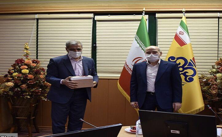 آیین تودیع مدیرعامل پیشین شرکت گاز استان تهران برگزار شد