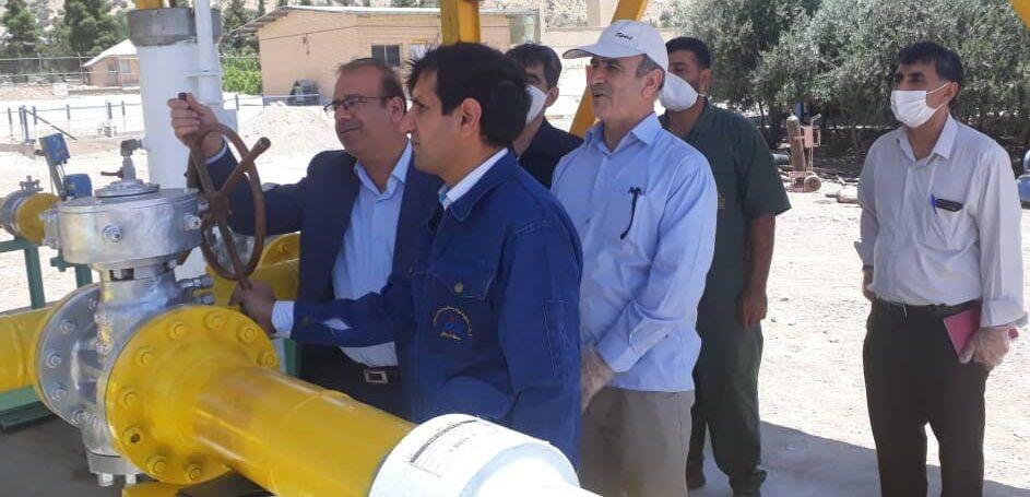 پروژه گازرسانی به مرکز انتقال نفت شهید سیفی به بهرهبرداری رسید