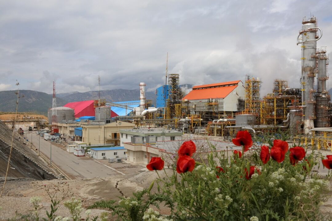 Ammonia Unit of Lordegan Petchem Plant Online