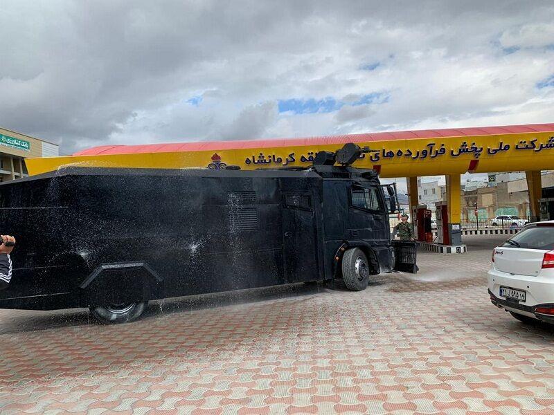 آمادگی شرکت پخش منطقه کرمانشاه برای مقابله با موج دوم شیوع کرونا