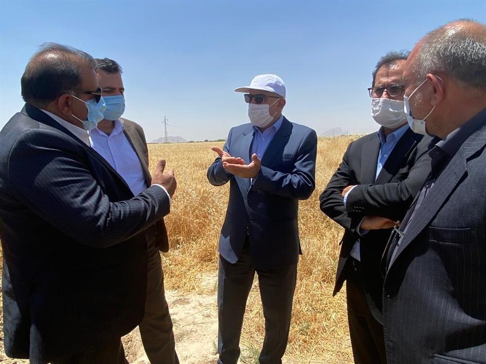 اراضی پیشنهادی برای احداث مخازن ذخیرهسازی پروپیلن در فارس بررسی شد