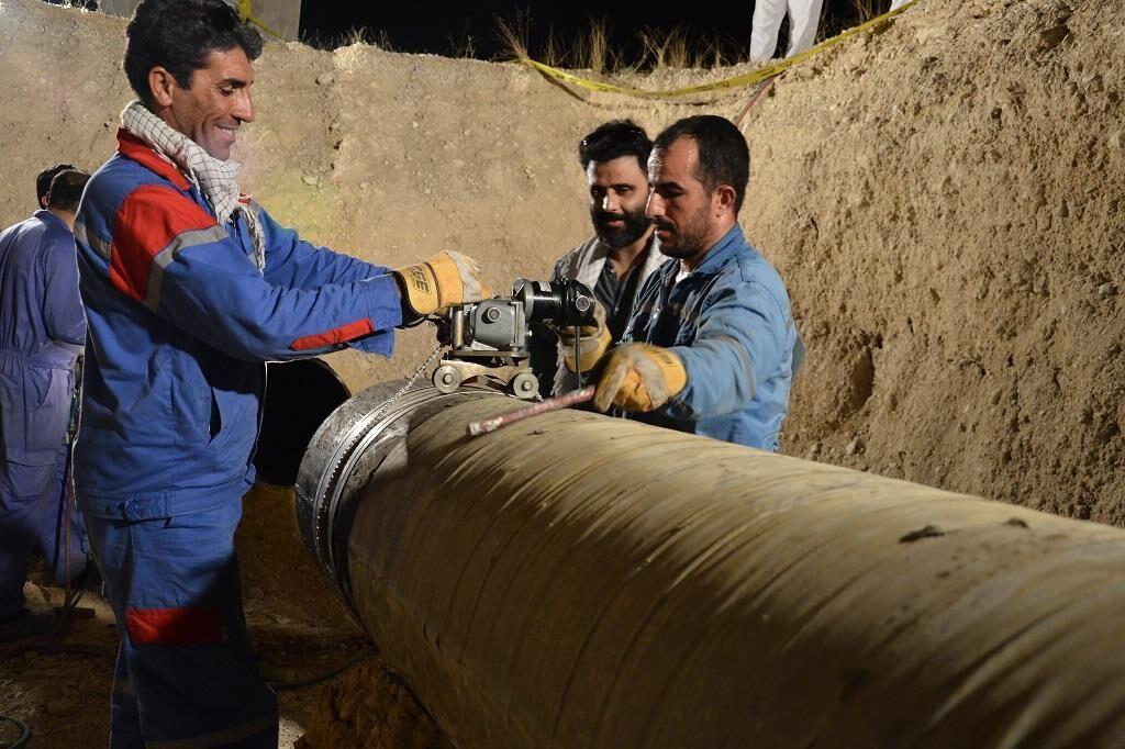 ایمنی شبکه انتقال گاز به شهرستان عسلویه افزایش یافت