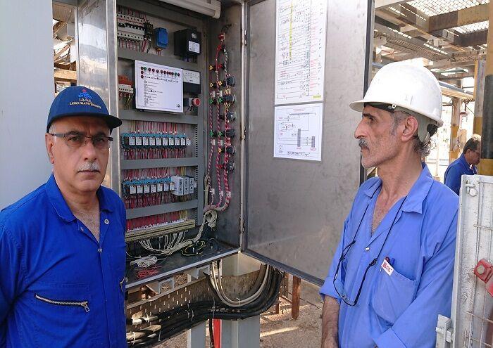 بازسازی تجهیز کاربردی در واحد آبسازی منطقه لاوان