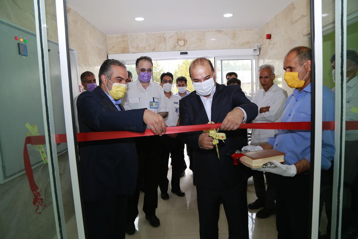 مرکز جدید اورژانس صنعت نفت و گاز بهرهبرداری شد