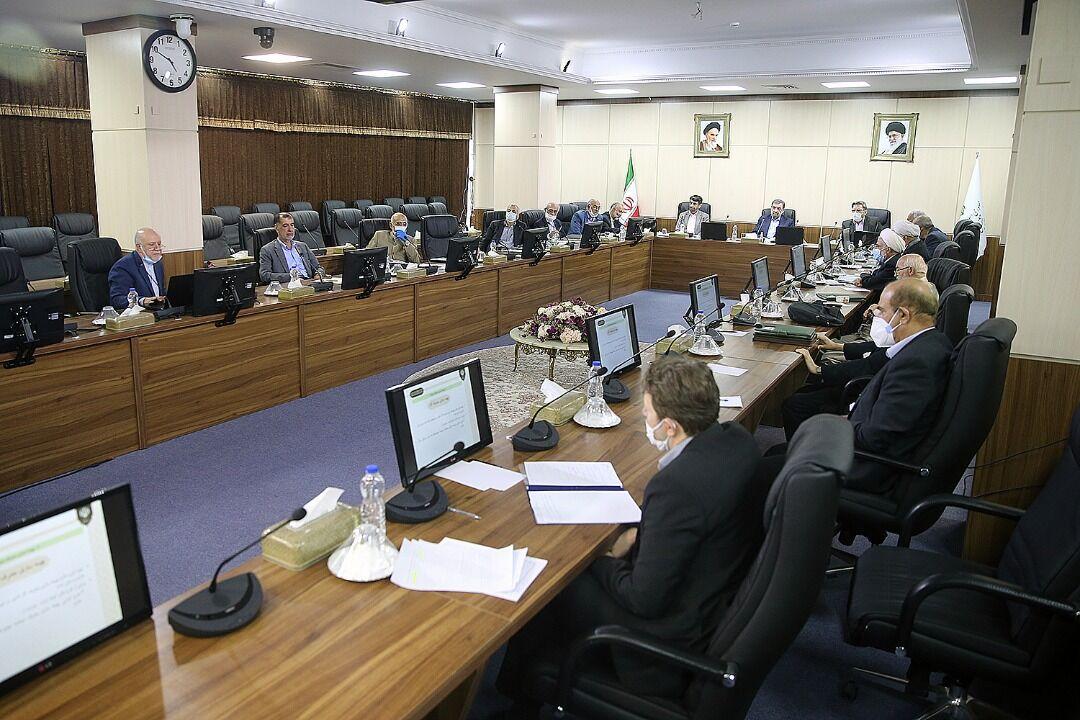 گزارش وزیر نفت به هیئت عالی نظارت مجمع تشخیص مصلحت نظام