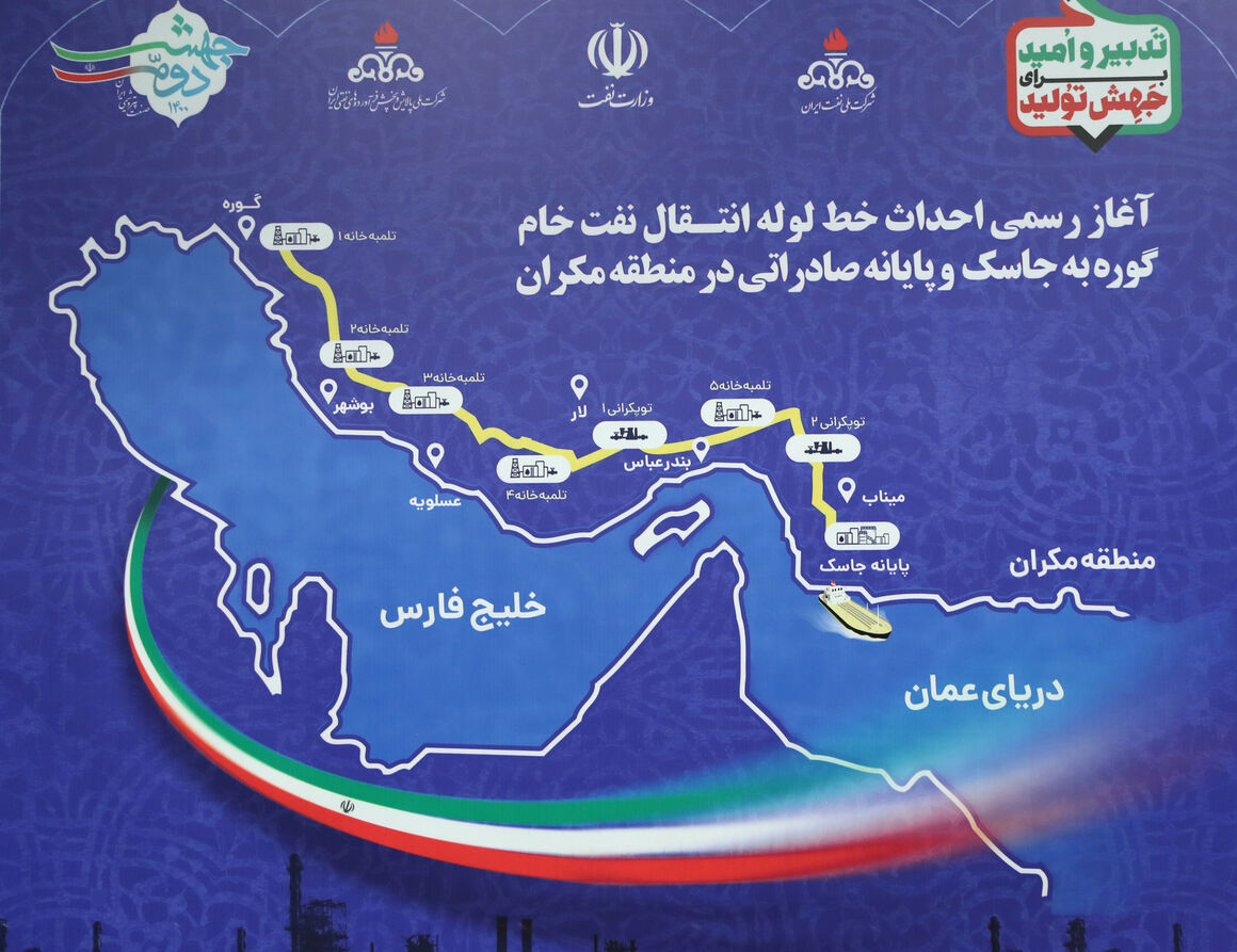 Iran Eyes Oil Exports from Jask by March