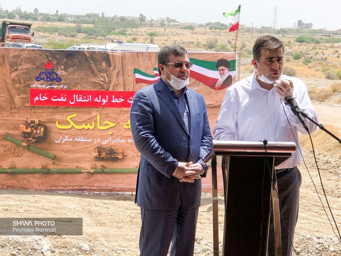 سهم ۹۵ درصدی خدمات و تجهیزات ایرانی در طرح انتقال نفت گوره به جاسک