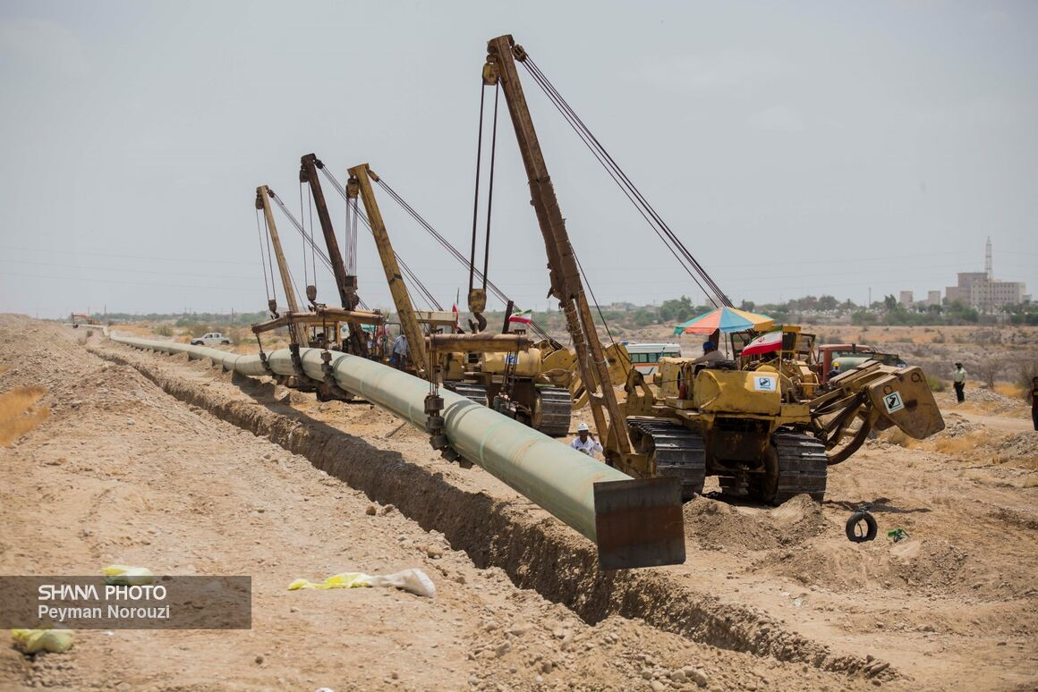 1st Phase of Goreh-Jusk Pipeline Project Online by March 2021