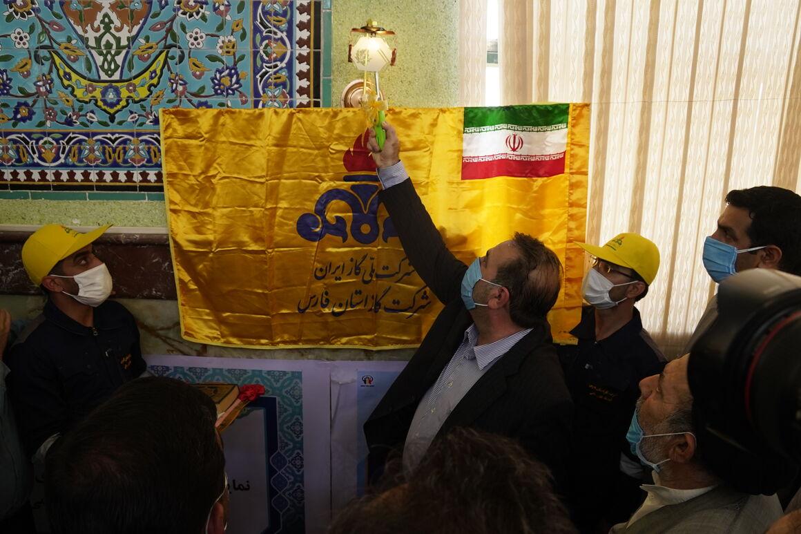 آغاز عملیات اجرایی ۳ پروژه گازرسانی در جنوب فارس