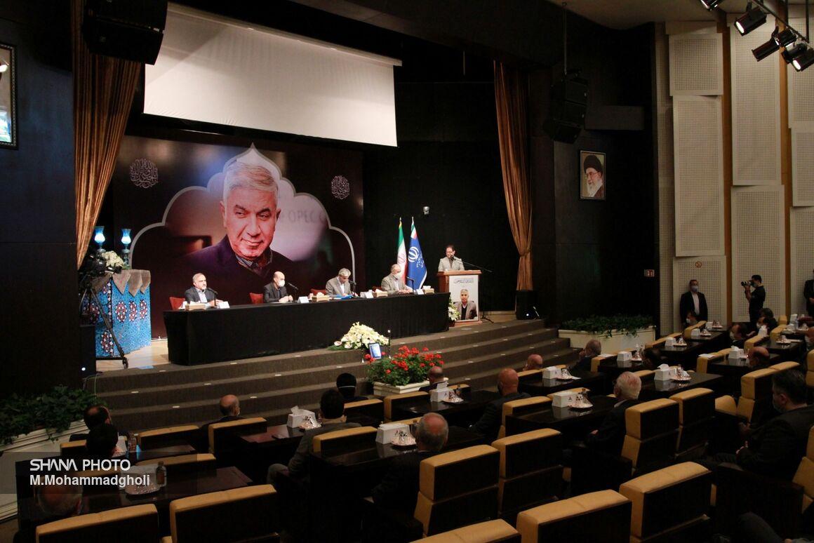 آیین گرامیداشت چهلمین روز درگذشت حسین کاظمپور اردبیلی