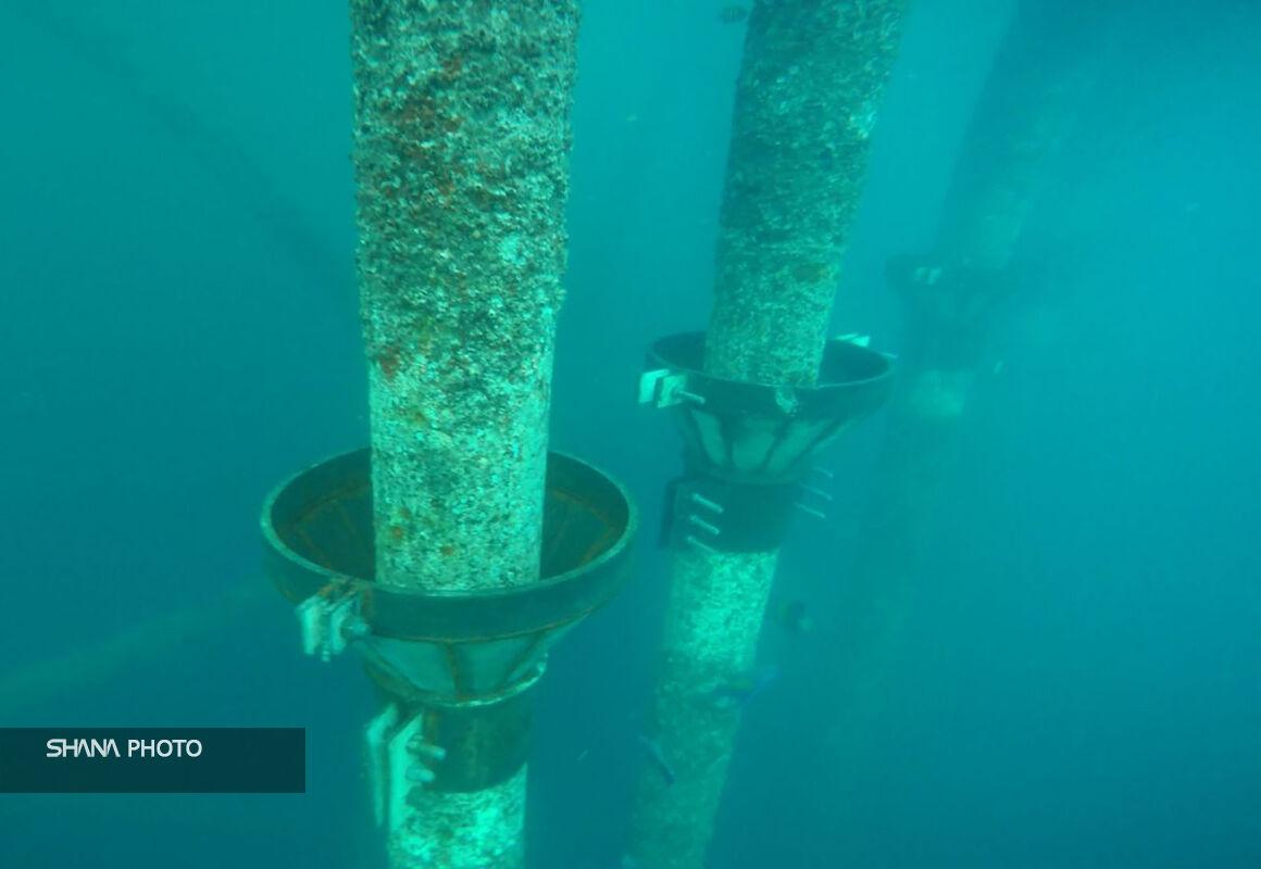 بازسازی پهلوگیر اسکله نفتی لاوان