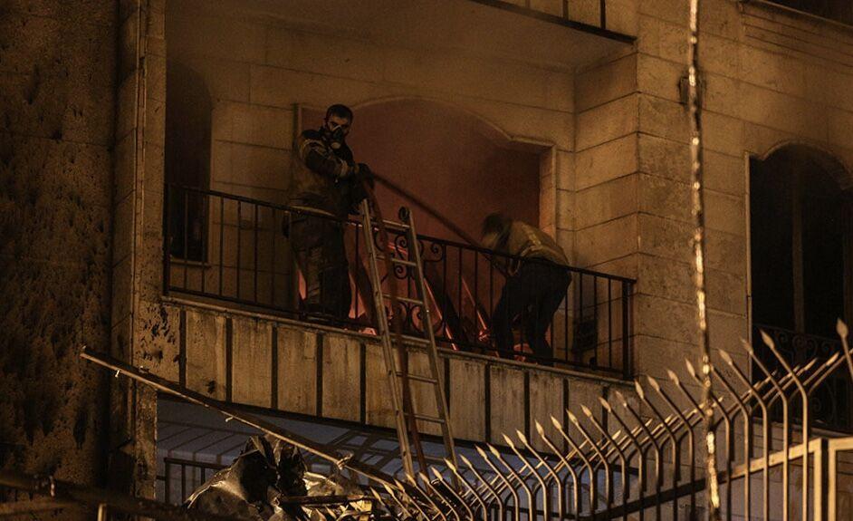 نشت گاز عامل انفجار مرکز درمانی خیابان شریعتی تهران نبوده است