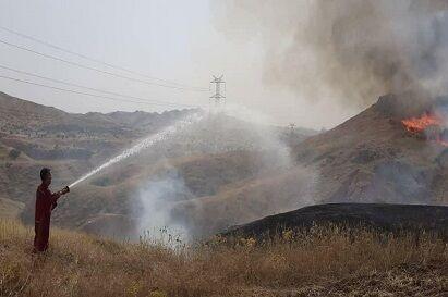 انفجار در خط لوله ایستگاه گاز در خوزستان
