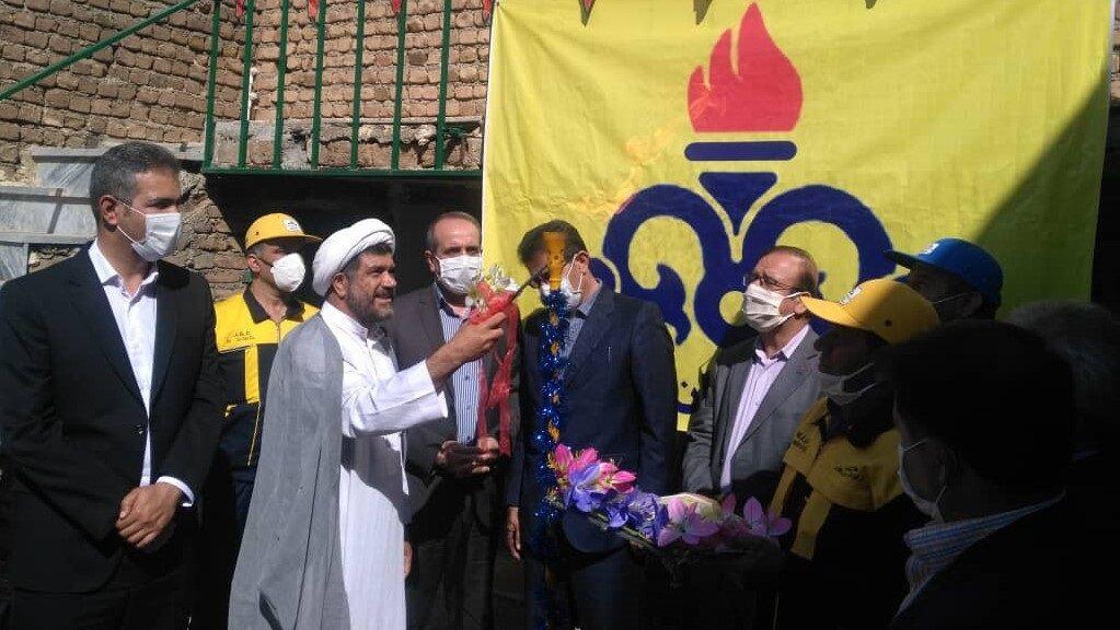 ۵ پروژه گازرسانی روستایی در خرمآباد بهرهبرداری شد