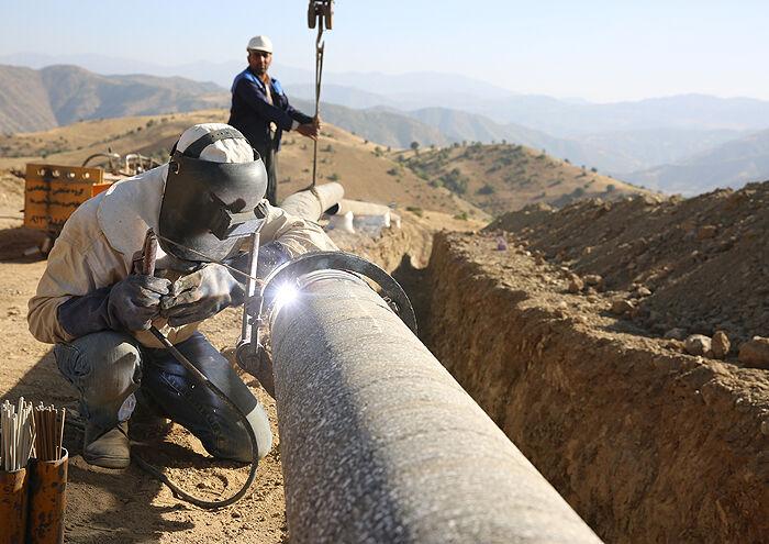 اجرای بیش از ۶۳۰ کیلومتر شبکه تغذیه و توزیع گاز در خراسان جنوبی