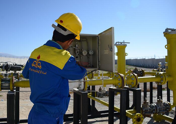 شبکه گازرسانی مناطق زلزلهزده سیسخت پایدار است