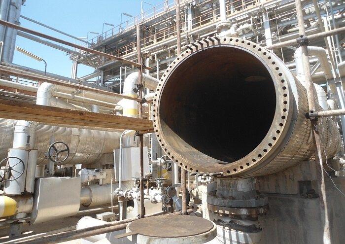 انجام تعمیرات اساسی ردیف ۳ نفت و گاز تاسیسات دارخوین