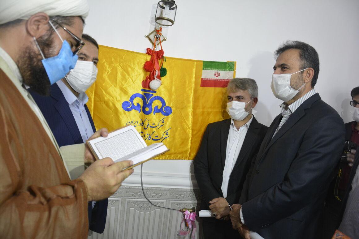 بهرهبرداری از پروژه گازرسانی به ۳ روستای فارس